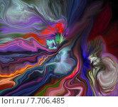 Абстрактный фон дизайна. Стоковая иллюстрация, иллюстратор Наталья Пеньшина / Фотобанк Лори