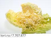 Купить «fresh savoy cabbage », фото № 7707877, снято 14 ноября 2018 г. (c) PantherMedia / Фотобанк Лори