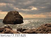 Гора Черепаха в Крыму. Стоковое фото, фотограф Андрей Борисов / Фотобанк Лори