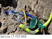 Маски плавательные (2011 год). Редакционное фото, фотограф Андрей Борисов / Фотобанк Лори