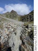 Купить «mountain alps stream berg berge», фото № 7763697, снято 16 июля 2019 г. (c) PantherMedia / Фотобанк Лори