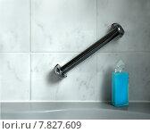 Купить «blue bottle flow handle bathroom», фото № 7827609, снято 23 июля 2019 г. (c) PantherMedia / Фотобанк Лори