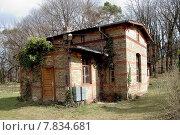 Купить «brick hut expire potsdam lodge», фото № 7834681, снято 24 октября 2019 г. (c) PantherMedia / Фотобанк Лори