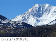 Купить «Am Simplonpass mit Fletschhorn (3993 m) Wallis Schweiz», фото № 7910745, снято 16 июля 2019 г. (c) PantherMedia / Фотобанк Лори