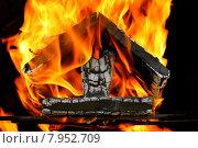Купить «wood hot warm heat fire», фото № 7952709, снято 26 марта 2019 г. (c) PantherMedia / Фотобанк Лори