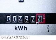 Купить «power energy electricity meter cost», фото № 7972633, снято 18 февраля 2018 г. (c) PantherMedia / Фотобанк Лори