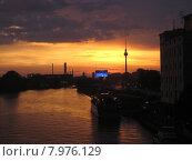 Купить «view city town silhouette sunset», фото № 7976129, снято 15 сентября 2019 г. (c) PantherMedia / Фотобанк Лори