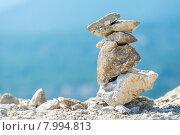 Каменная пирамидка. Греция. Стоковое фото, фотограф Andrei Nekrassov / Фотобанк Лори