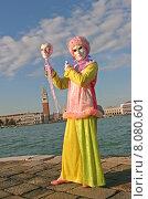 Купить «costume mask carnival venice revetment», фото № 8080601, снято 21 августа 2019 г. (c) PantherMedia / Фотобанк Лори