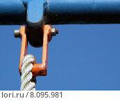 Купить «metal iron rope rust thread», фото № 8095981, снято 23 февраля 2019 г. (c) PantherMedia / Фотобанк Лори