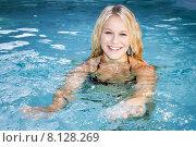 Купить «leisure water training swimming pool», фото № 8128269, снято 19 сентября 2019 г. (c) PantherMedia / Фотобанк Лори