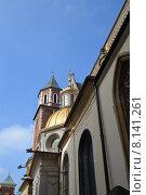 Замок Вавель в Кракове (2013 год). Стоковое фото, фотограф Беличенко Анна Сергеевна / Фотобанк Лори
