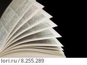 Купить «paper book pages browse dictionary», фото № 8255289, снято 26 мая 2018 г. (c) PantherMedia / Фотобанк Лори