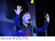 Berlin, Germany, singer Morrissey in concert at the Spandau Citadel (2011 год). Редакционное фото, агентство Caro Photoagency / Фотобанк Лори