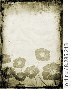 Купить «Floral grunge», иллюстрация № 8285213 (c) PantherMedia / Фотобанк Лори