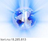 Купить «Abstract globe», иллюстрация № 8285813 (c) PantherMedia / Фотобанк Лори
