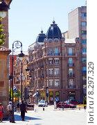 Купить «Historical part of Leon. Spain», фото № 8297329, снято 27 июня 2015 г. (c) Яков Филимонов / Фотобанк Лори