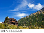 Купить «mountain buzzer tatry chalet buried», фото № 8335821, снято 20 августа 2019 г. (c) PantherMedia / Фотобанк Лори