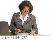 Купить «woman work businesswoman job labor», фото № 8344097, снято 22 апреля 2019 г. (c) PantherMedia / Фотобанк Лори