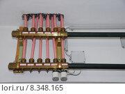 Купить «heat tube heating boiler room», фото № 8348165, снято 19 февраля 2019 г. (c) PantherMedia / Фотобанк Лори
