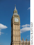 Купить «Big Ben great clock tower in London», фото № 8377637, снято 19 июня 2015 г. (c) Syda Productions / Фотобанк Лори