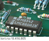 Купить «resistance capacitor integrated circuit tstella», фото № 8416805, снято 19 февраля 2019 г. (c) PantherMedia / Фотобанк Лори