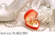 Купить «Свадебная композиция», фото № 8463981, снято 24 июля 2014 г. (c) Виктор Топорков / Фотобанк Лори