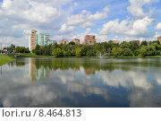 Купить «Верхний и Нижний Люблинские пруды. Москва», эксклюзивное фото № 8464813, снято 29 июля 2015 г. (c) lana1501 / Фотобанк Лори
