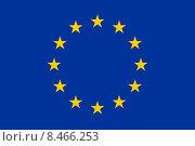 Купить «Флаг Европы», иллюстрация № 8466253 (c) Manapova Ekaterina / Фотобанк Лори
