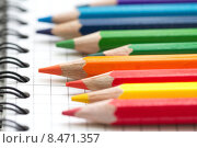Цветные карандаши. Стоковое фото, фотограф Ольга Гамзова / Фотобанк Лори