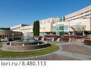 Купить «Кисловодск, территория санатория», фото № 8480113, снято 31 июля 2015 г. (c) Валерий Шилов / Фотобанк Лори