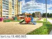 Детский сад в пос.Чурилово г.Челябинск (2014 год). Редакционное фото, фотограф Игорь Опойков / Фотобанк Лори