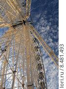 Купить «Колесо обозрения в г.Брюсселе», фото № 8481493, снято 5 августа 2015 г. (c) Эдуард Цветков / Фотобанк Лори
