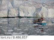 Купить «arctic iceberg greenland diskobucht eisfjord», фото № 8486857, снято 15 ноября 2019 г. (c) PantherMedia / Фотобанк Лори