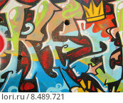 Купить «abstract colored graffiti», фото № 8489721, снято 21 февраля 2020 г. (c) PantherMedia / Фотобанк Лори