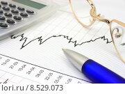 Купить «Stock chart», фото № 8529073, снято 8 июля 2020 г. (c) PantherMedia / Фотобанк Лори