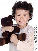beautiful child with teddy bear. Стоковое фото, фотограф Gelpi José Manuel / PantherMedia / Фотобанк Лори