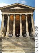 Купить «Roman temple in Nimes France», фото № 8563509, снято 20 июня 2019 г. (c) PantherMedia / Фотобанк Лори
