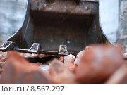 Купить «stones scree excavator dredger baggerschaufel», фото № 8567297, снято 19 марта 2019 г. (c) PantherMedia / Фотобанк Лори