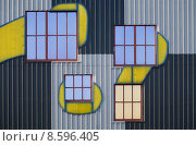 Купить «architecture art window facade pane», фото № 8596405, снято 20 апреля 2019 г. (c) PantherMedia / Фотобанк Лори