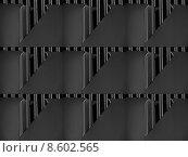 Купить «metal digital facade fantasy anthracite», фото № 8602565, снято 16 июня 2019 г. (c) PantherMedia / Фотобанк Лори