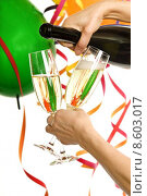 Купить «celebration party birthday champagne carnival», фото № 8603017, снято 22 июля 2019 г. (c) PantherMedia / Фотобанк Лори
