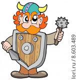 Купить «Angry viking warrior», иллюстрация № 8603489 (c) PantherMedia / Фотобанк Лори