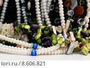 Купить «Chest full of jewelry treasures», фото № 8606821, снято 23 мая 2019 г. (c) PantherMedia / Фотобанк Лори