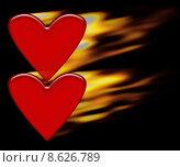 Купить «Burning hearts», иллюстрация № 8626789 (c) PantherMedia / Фотобанк Лори