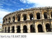 Купить «Roman arena in Nimes France», фото № 8647809, снято 20 июня 2019 г. (c) PantherMedia / Фотобанк Лори
