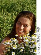 Купить «woman smiling smile summer light», фото № 8683769, снято 16 июля 2018 г. (c) PantherMedia / Фотобанк Лори