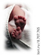 Купить «baby new born neonate babyf», фото № 8707765, снято 24 марта 2019 г. (c) PantherMedia / Фотобанк Лори