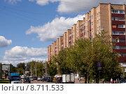 Солнечногорск, улица Дзержинского (2015 год). Редакционное фото, фотограф Оксана Лычева / Фотобанк Лори