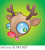 Купить «Rudolph The Red Nosed Reindeer», иллюстрация № 8741937 (c) PantherMedia / Фотобанк Лори